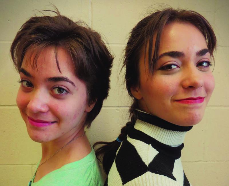 Audrey et Chloé Couture, les auteures d'Apparitions