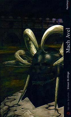 Mach Avel, roman de fantasy de Simon St-Onge publié aux éditions Les Six Brumes