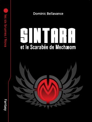 Sintara et le Scarabée de Mechaeom, page couverture